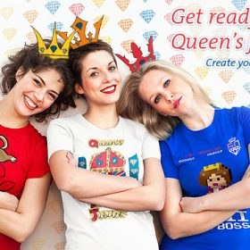 The Queen's Diamond Jubilee – Create your own Souvenir!
