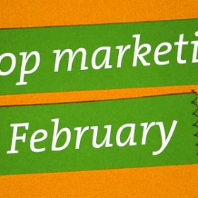 Marketing tips for February Shop Spring Cleaning