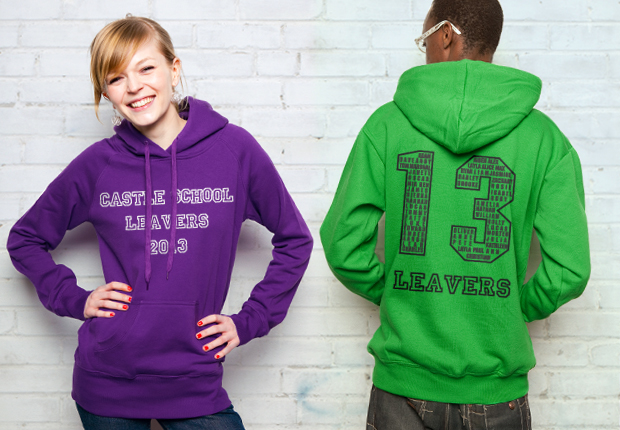 Leavers Hoodies from Spreadshirt