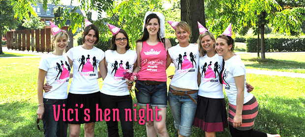 Vici's hen night