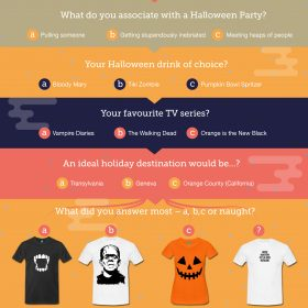 The Spreadshirt Halloween Quiz: What to Wear?