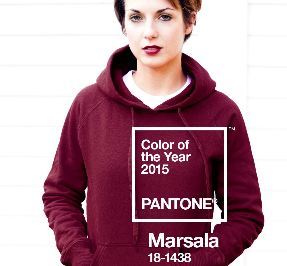 trendcolor marsala