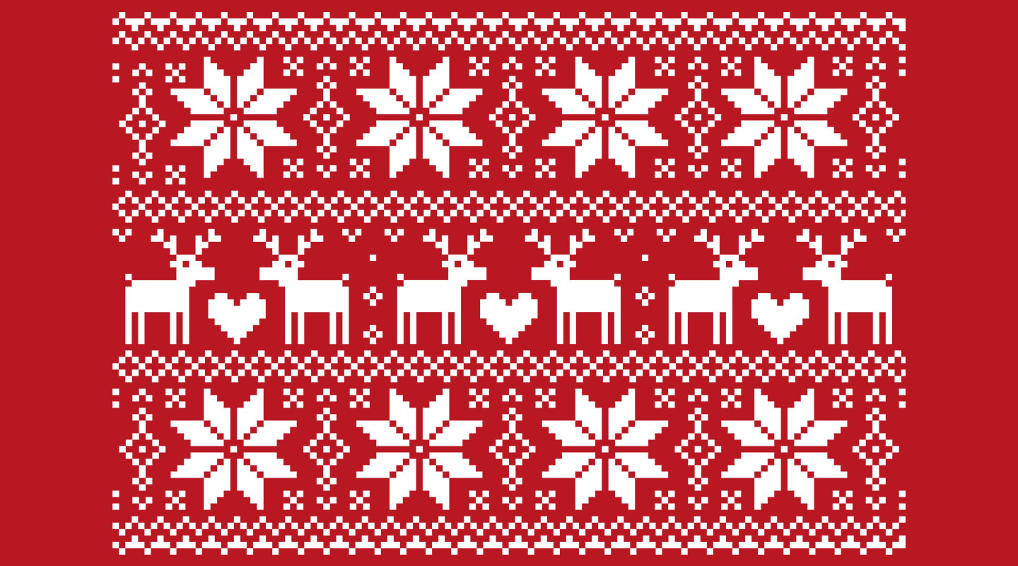 Free Knitting Pattern For Reindeer Jumper : Weve got the Ugliest Christmas Sweaters   ever!
