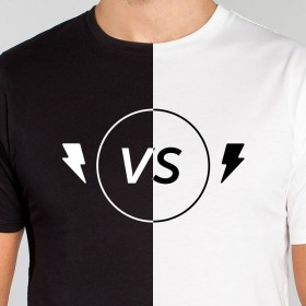 Why it matters if a T-shirt is black or white