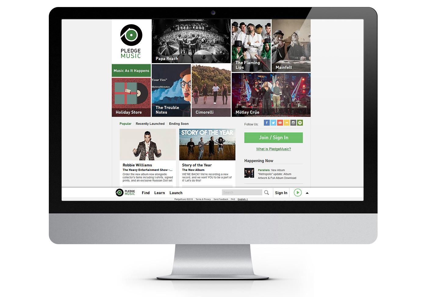 promote music with pledgemusic