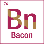 Bacon periodic table t shirts by funkmaster spreadshirt bacon periodic table t shirts urtaz Gallery