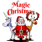 magic christmas unicorn - Christmas Unicorn