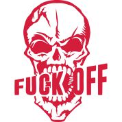 Fuck Off Quotes Impressive Fuck Off Insult Skull Quote From Tank Top  Spreadshirt