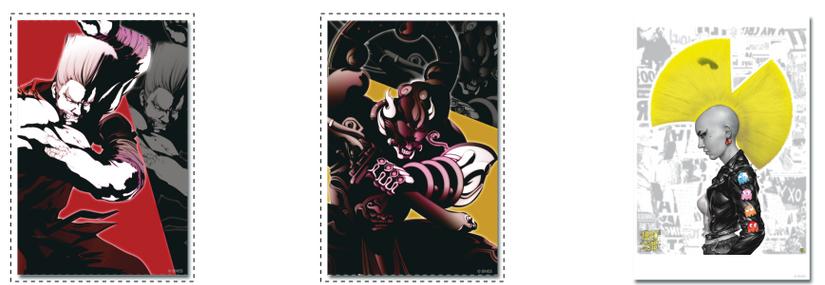 Bandai Namco Poster Canvas